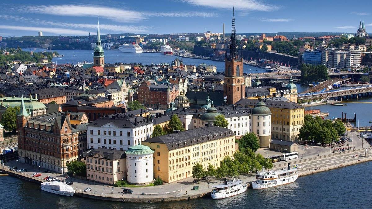 เที่ยวยุโรป Stockholm Sweden