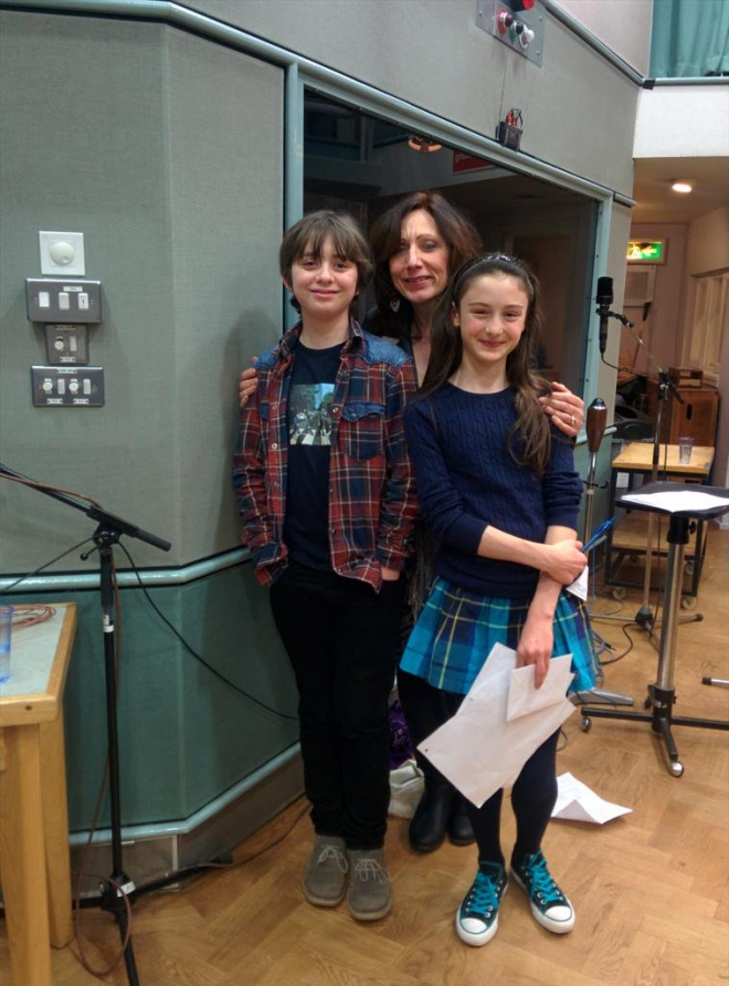 Hollie Burgess (Fanny), Sharon Oakes, Adam Thomas Wright (Alexander). BBC Radio