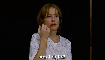 The Piano Teacher, mutilation