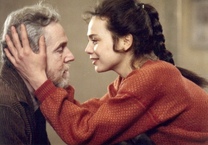 Henrik Vogler and Anna Egerman in After the Rehearsal (1984).