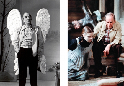 Bergman as Angel