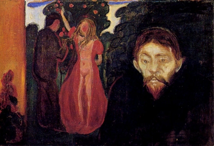 Edvard Munch, Jealousy (1895).
