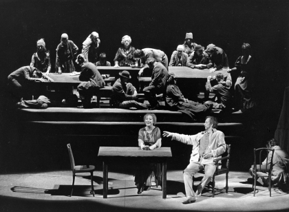 To Damaskus, Dramaten, Jan Olof Strandberg, 1974, English